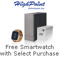 Free SmartWatch with select HighPoint Storage Solution Purchase
