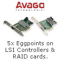 5x eggpoints on LSI controllers & RAID cards
