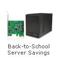 Back-to-School Server Savings