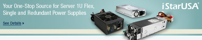 Your One-Stop Source for Server 1U Flex, Single and Redundant Power Supplies