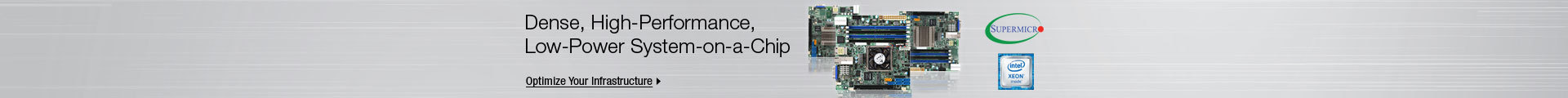 Dense, High-Performance, Low-Power System-on-a-Chip