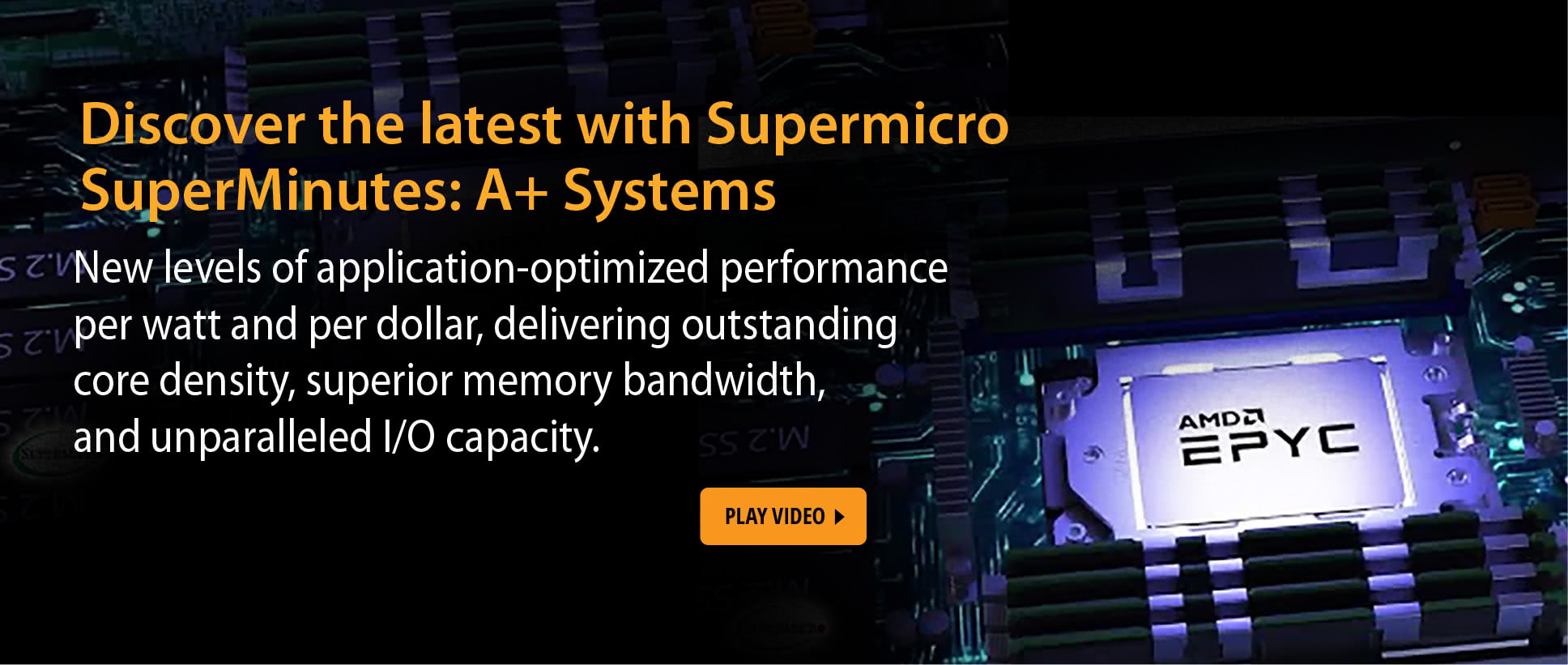 Discover the latest with Supermicro SuperMinutes: A+ Systems