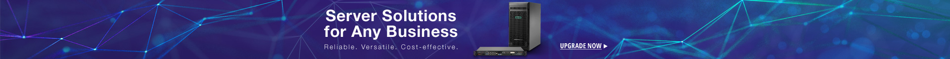Server solutions for any business