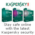 Stay safe online with the latest Kaspersky security
