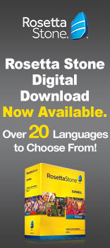 Rosetta Stone Digital Download Now Available