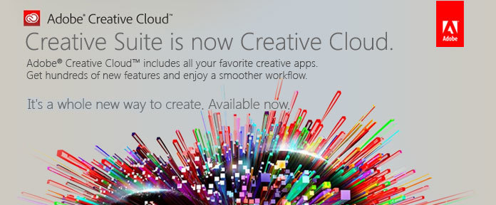 Creative Suite is now Creative Cloud