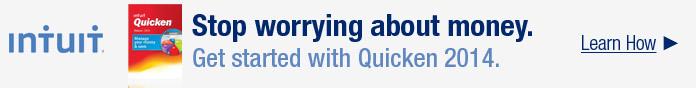 Get started with Quicken 2014.