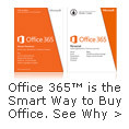 Office 365 is the smart way to buy Office.