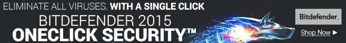 BITDEFENDER 2015 ONCLICK SECURITY
