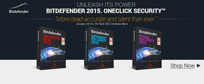 Bitdefender 2015. OneClick Security