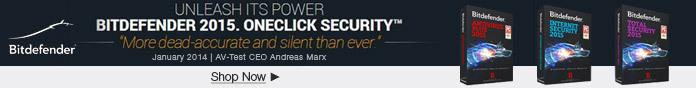 Bitdefender 2015. OneClick Security