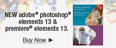 NEW adobe Photoshop elements 13 & premiere elements 13