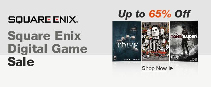 Square Enix Digital Game Sale