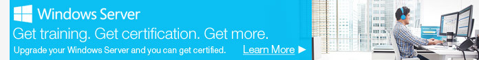 Get training. Get certification. Get more