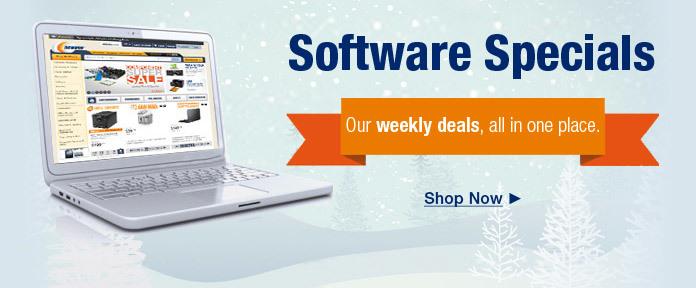 Software Specials