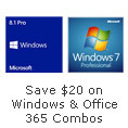 Save $20 on Windows & Office 365 Combos