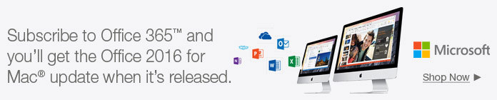 Subscribe to Office 365 and you'll get the Office 2016 for Mac update when it's released