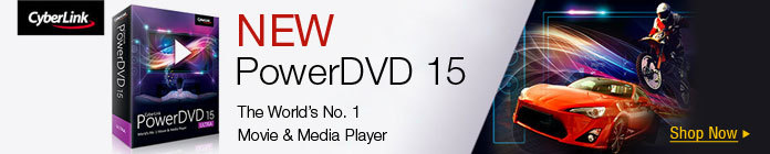 NEW PowerDVD 15