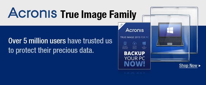 Acronis true image family
