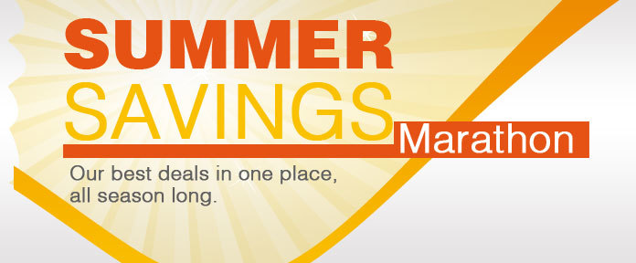 Summer Savings Marathon