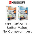 WPS Office10:Better Value,No Compromises