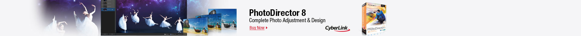 PhotoDirector 8: complete photo adjustment & design