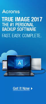 True image 2017 the #1 personal backup software
