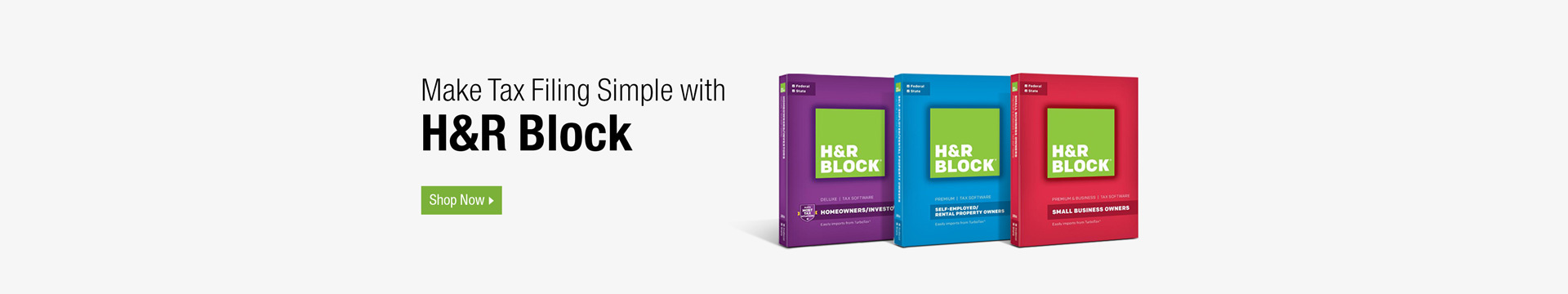 Make Tax Filing Simple with H&R Block