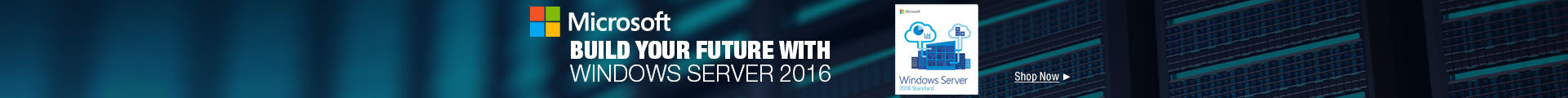 Build Your Future with Windows Server 2016