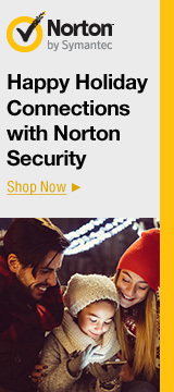 Happy holiday connections with Norton security