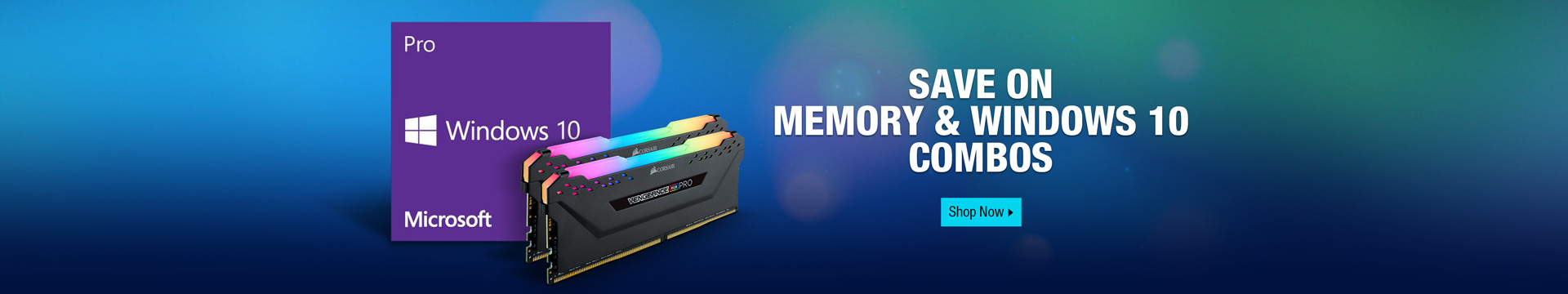 Save on memory & windows 10 combos