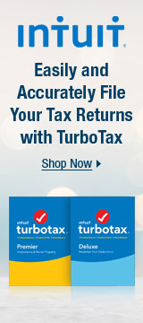 Easily and accurately file your Tax returns with TurboTax