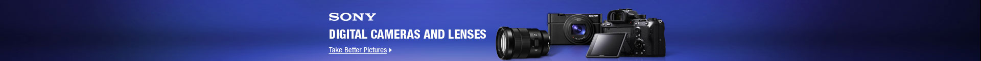 SONY Digital Cameras and Lenses