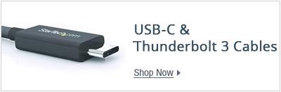USB-C & Thunderbolt 3 cables