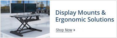 Display mounts & ergonomic solutions