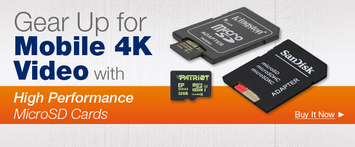 Gear Up for Mobile 4K Video