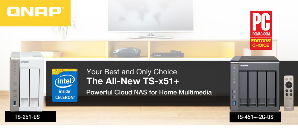 The All-New TS-x51+ | Newegg com