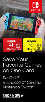 Save your favorite games on one card