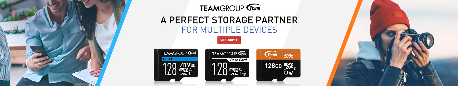 TEAMGROUP A PERFECT STORAGE PARTNER