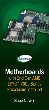 Motherboards with 2nd Gen AMD EPYC
