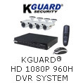 KGUARD HD 1080P 960H DVR System