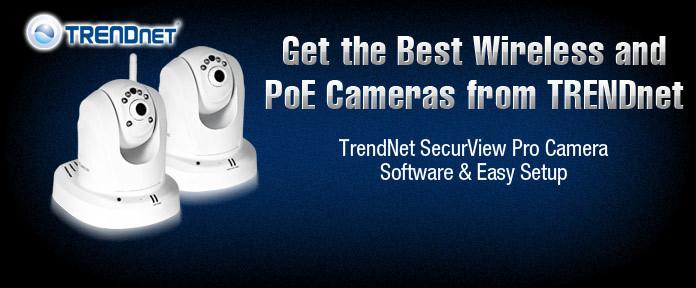 TRENDnet SecurView Pro Camera Software & Easy Setup