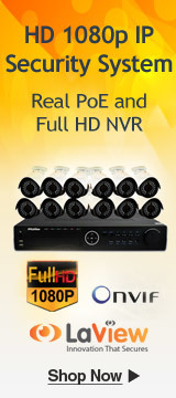 Real PoE and Full HD NVR
