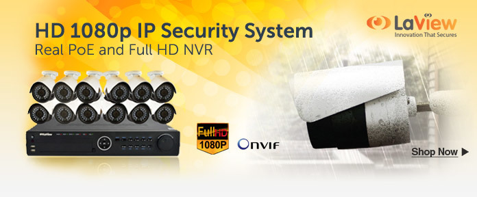 HD 1080p IP Security System