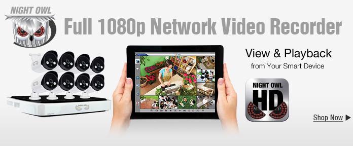 Night Owl_ Full 1080p HD Network Video Recorder