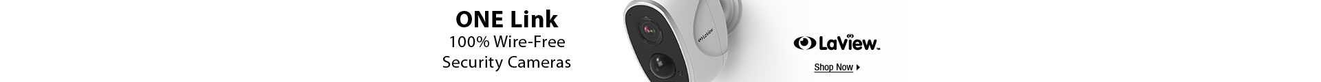 ONE Link 100% Wire-Free Security Cameras