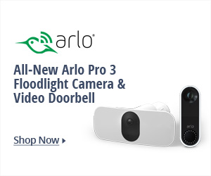 All - New Arlo Pro 3 Floodlight Camera & Video Doorbell