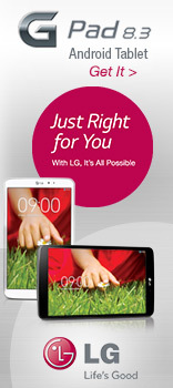 LG G Pad 8.3 Android Tablet Just Right For You