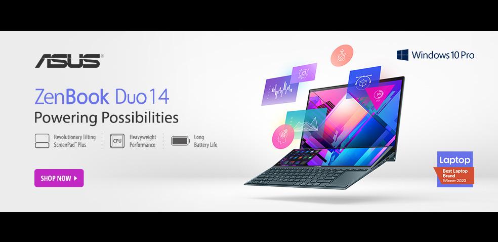 ASUS ZenBook Duo14