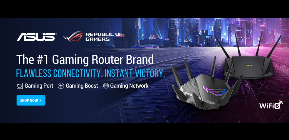 ASUS #1 Gaming Router Brand